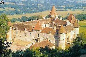Parc régional morvan chateau
