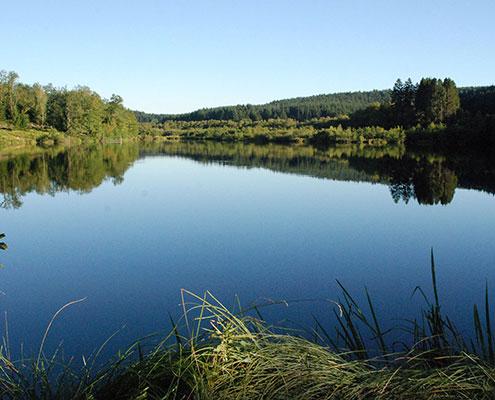 lacs du parc naturel du Morvan